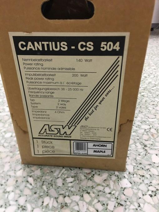 ASW CS 504