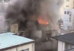 福島市陣場町 火事 火災