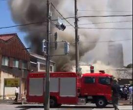 愛知県一宮市本町 火事 火災