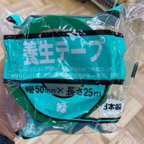 窓貼り方 養生テープ 台風