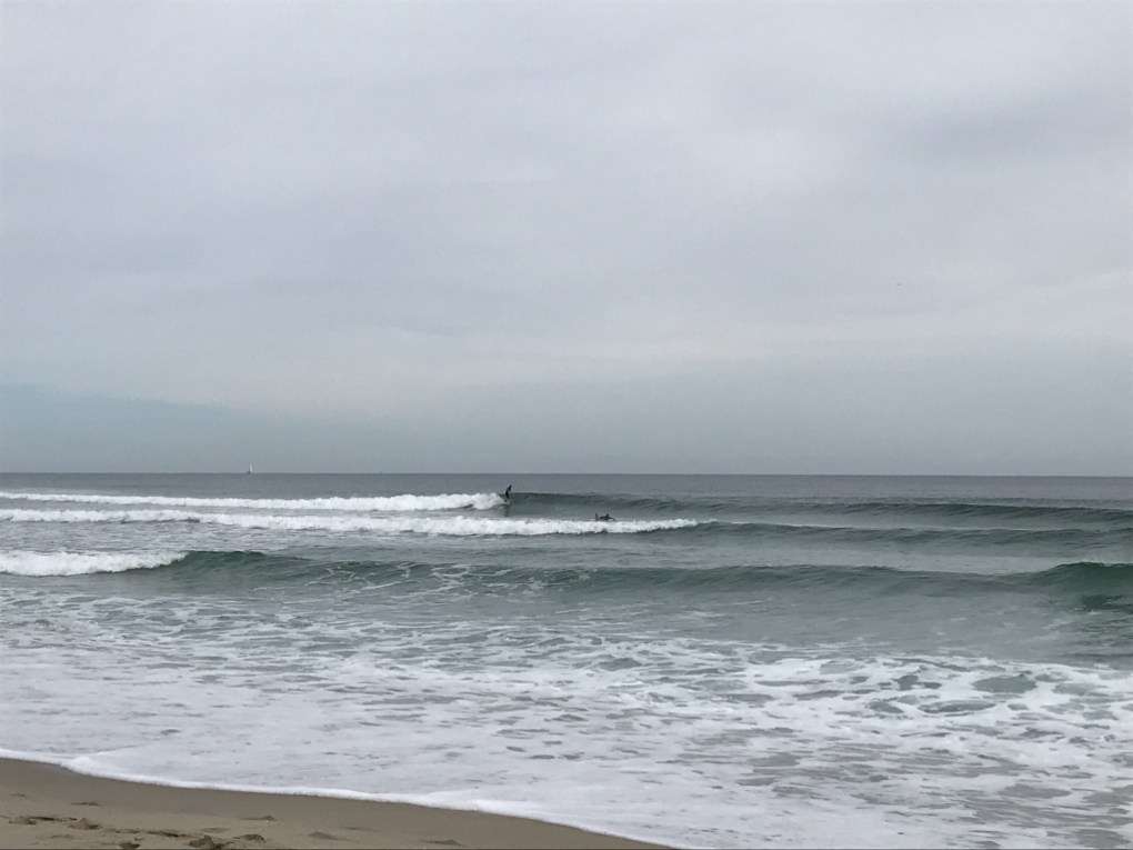 Waist High Sliders with 2 surfers out