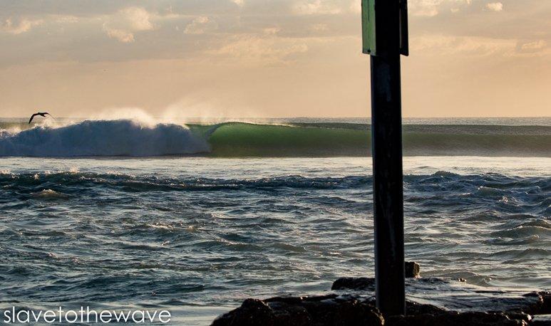 Winter Storm Riley - Unridden Inlet Barrel Deerfield Beach
