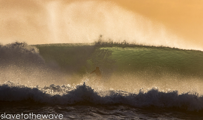 Winter Storm Riley - Golden Hour Barrels in South Florida