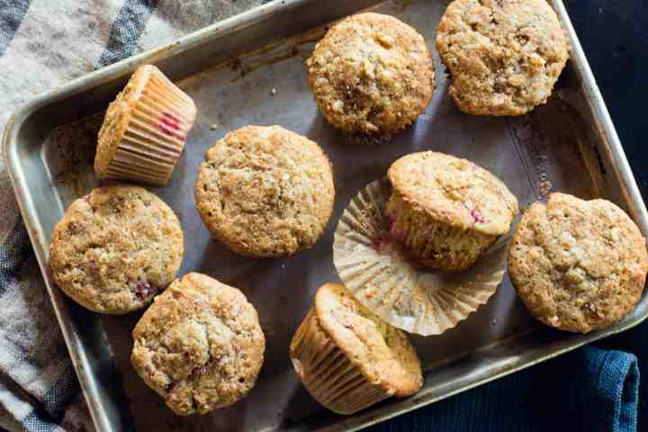 image of muffins on pan