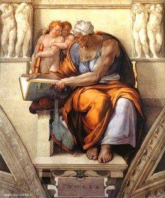 Michelangelo, Cumaean Sibyl, c. 1510, Vatican City, Sistine Chapel