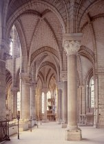 Chevet, c.1140, Abbey Church, Saint Denis