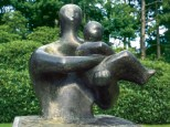 henry-moore-mother-and-book