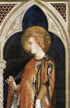 Simone Martini, St Elizabeth of Hungary, 1317, Cappella di San Martino, Assisi, San Francesco, Lower Church.