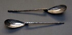 Silver spoons, Constantinople, 3rd c.