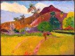 Paul Gauguin, Tahitian Landscape, 1888.