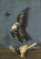 Jean-Baptiste Oudry, Nature morte aux oiseaux, ...