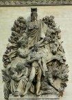La Paix de 1815, Paris, Arc de Triomphe