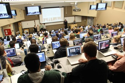 Some classes might require a lot of usage of your laptop! Make sure you don't forget it!