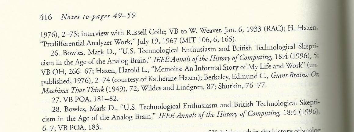 Footnotes appear at the bottom of the page and endnotes come at the end of the document. Becoming a Footnote in History