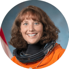 DOTTIE METCALF-LINDENBURGER ASTRONAUT (Retired)