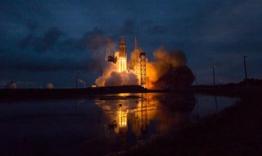 Orion EFT-1 Launch