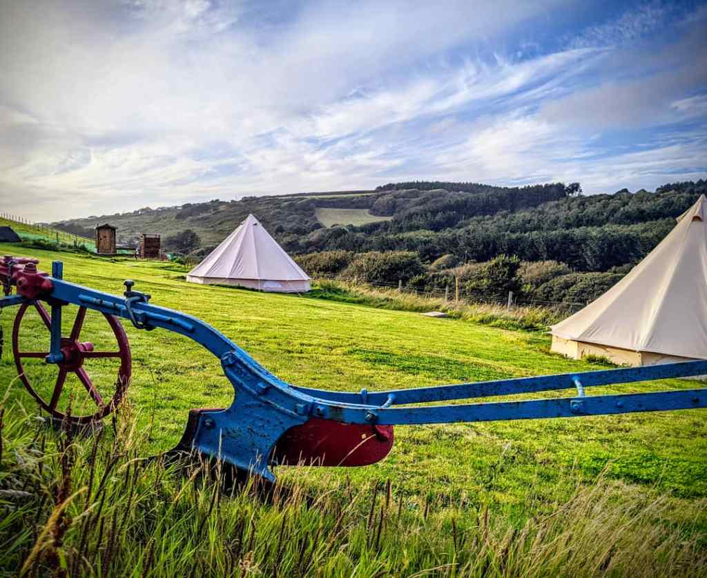 Our exclusive Off Grid and Eco Friendly campsite in Mawgan Porth.