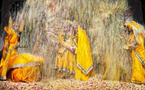 Rasa Yatra's colourful scenes are a treat
