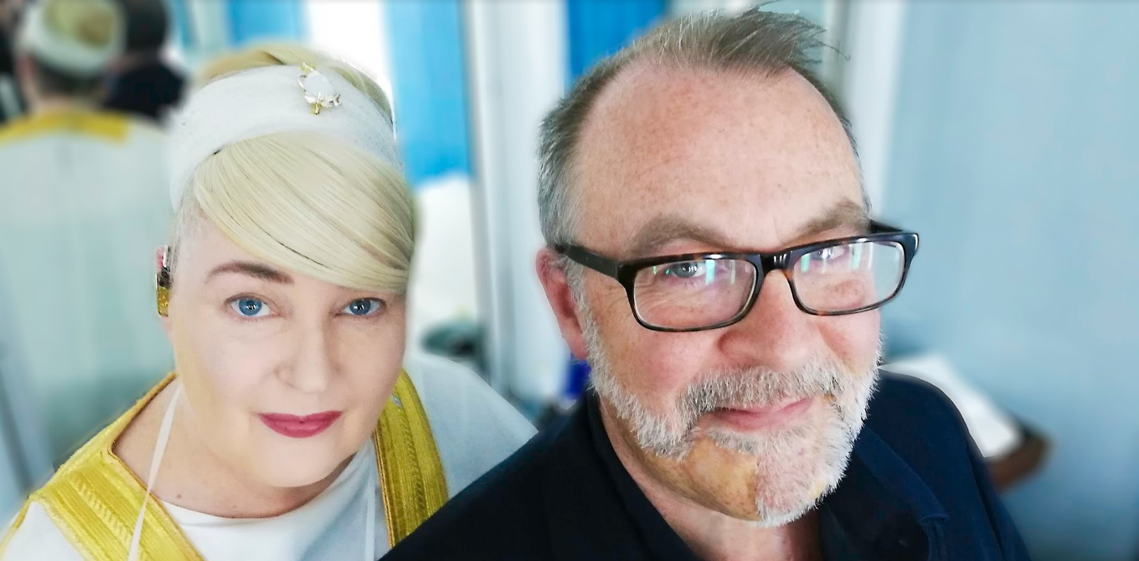photo of Lisa Gerrard and Jules Maxwell by Robbie Perry