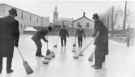1909 - Men Curling in Toronto