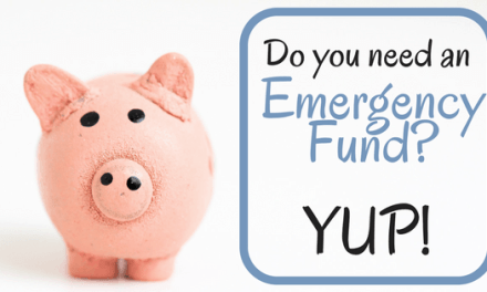 Do you need an Emergency Fund?…. YUP!
