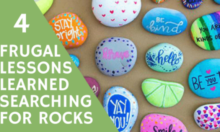 Frugal Lessons Learned Searching for Rocks