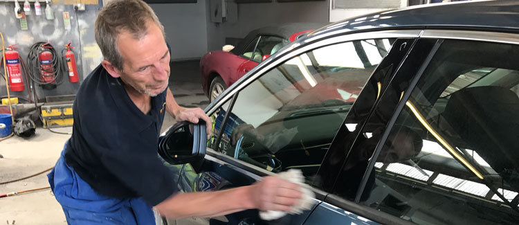 Car Body and accident repairs | Highgate Garage | Whitchurch