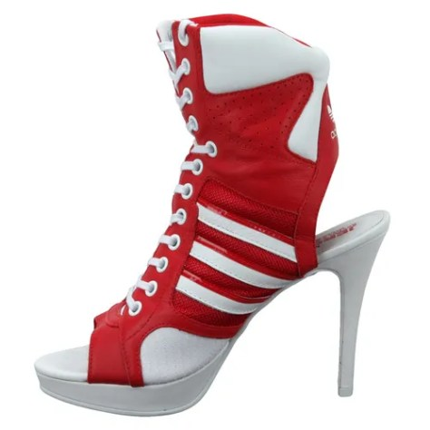 Adidas Jeremy Scott high heel sneakers