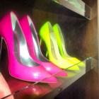 Kim Kardashian's shoe closet