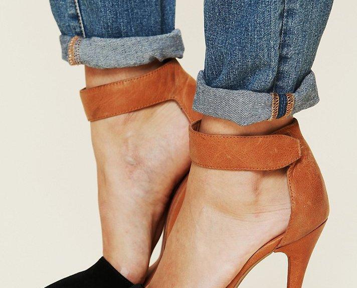 velcro high heels