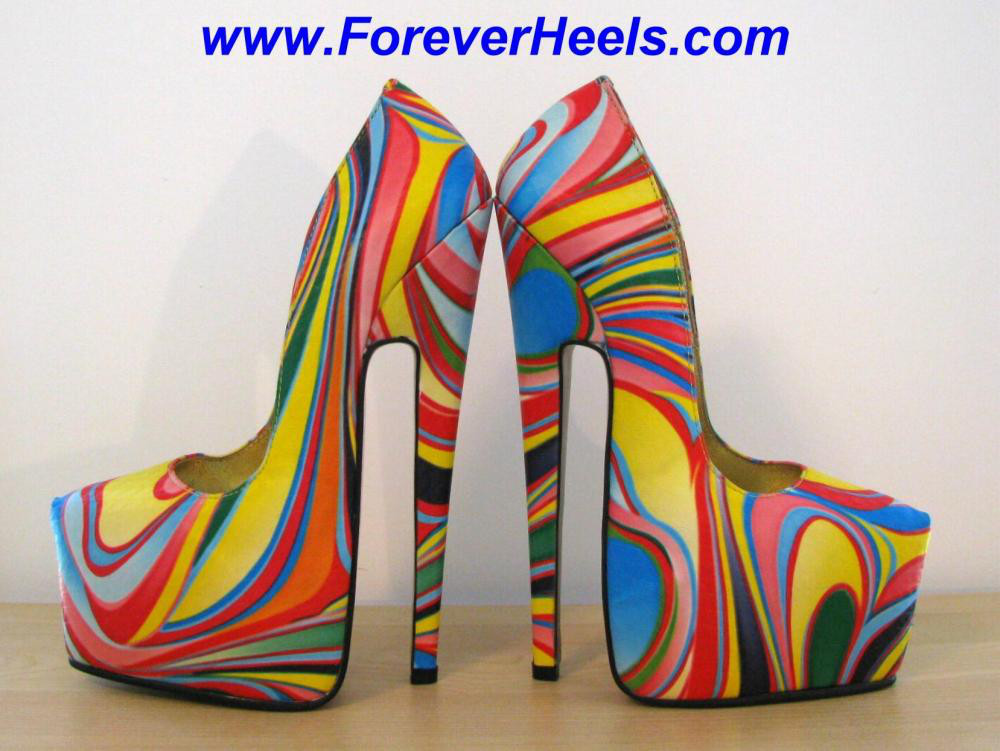 Peter Chu Shoes 6 Inch Heels Forever (