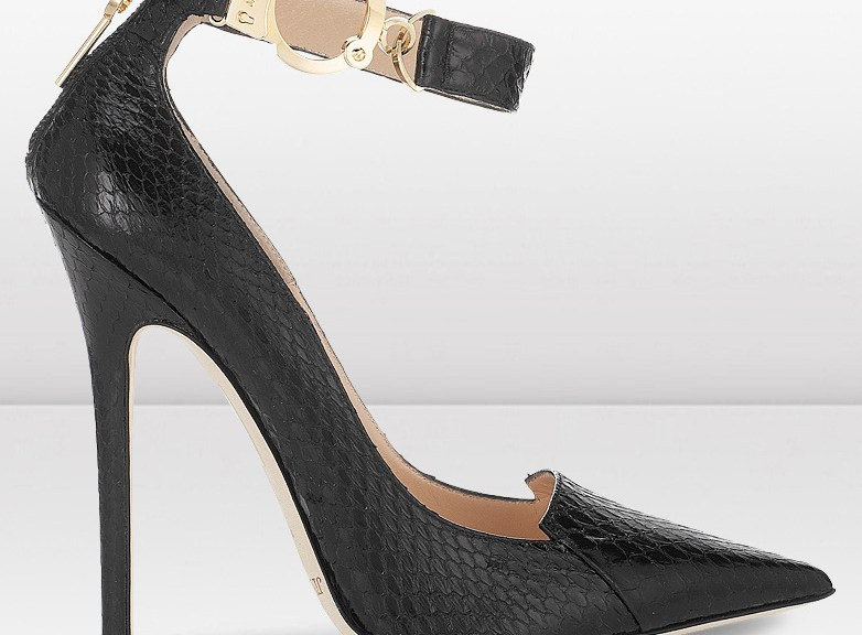 Jimmy Choo handcuff high heels