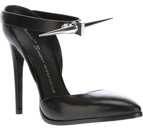 Anthony Vaccarello spike high heel