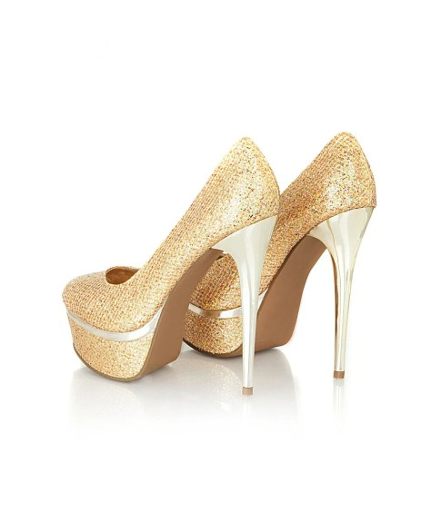 Missguided Glitter High Heels