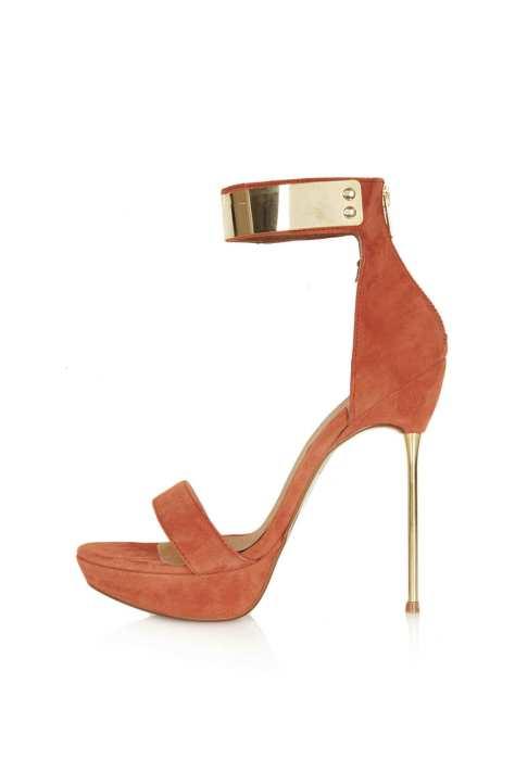 Skinny Heel High Sandals