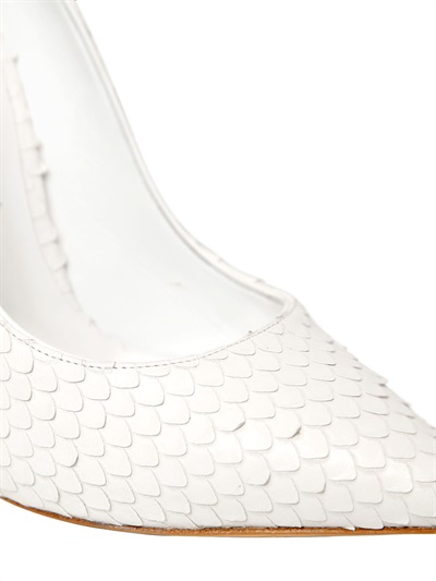 Casadei White Court Shoes