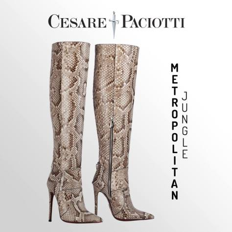 Cesare Paciotti knee high boots