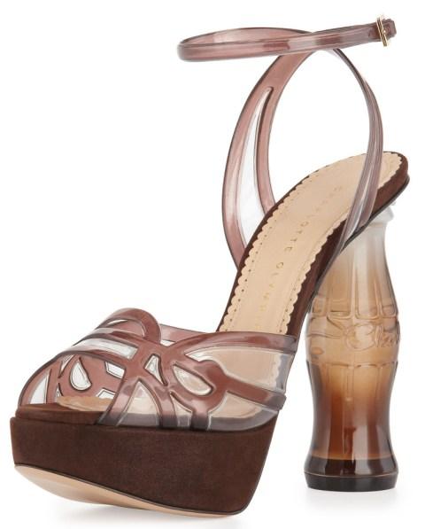 Charlotte Olympia cola high heels