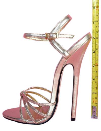 Measuring heel height