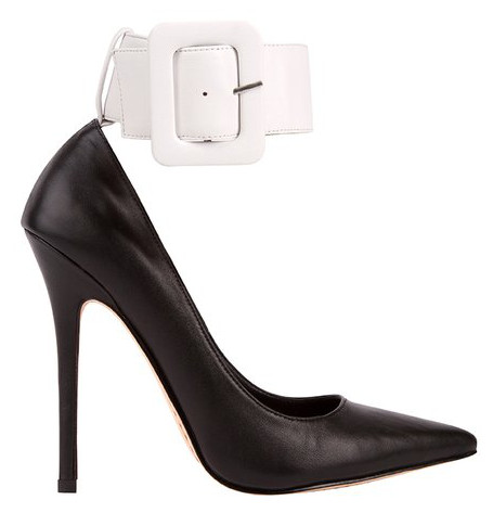 Jaspa King ankle strap stilettos