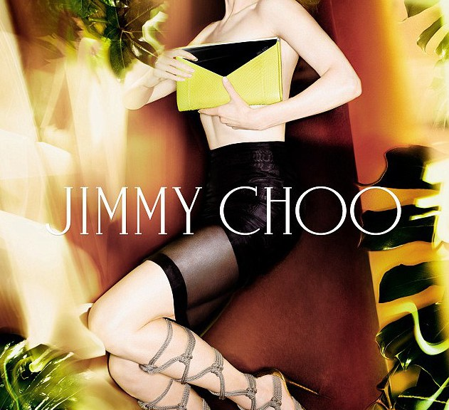 Nicole Kidman in rope sandals for Jimmy Choo