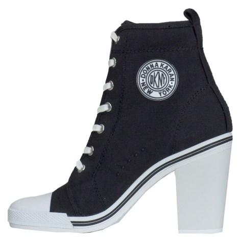 sneaker heels DKNY