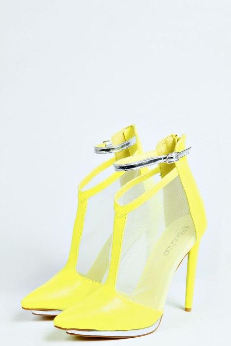 Yellow Metallic T Bars
