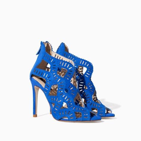 Zara Blue Sandals