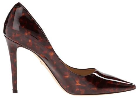 tortiseshell high heels