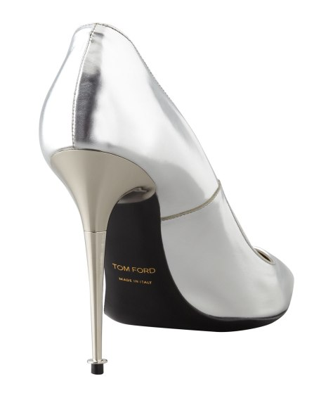 Tom Ford Silver High Heels