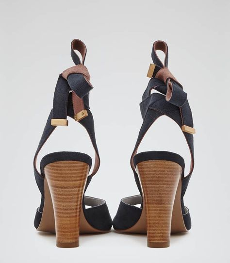 Tie Back High Heel Shoes