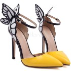 butterfly high heels