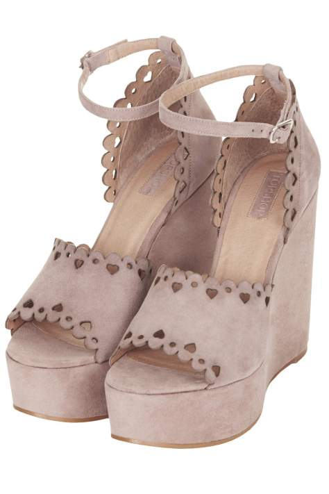 TopShop High Heel Wedges