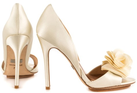 Badgley Mischka bridal heels
